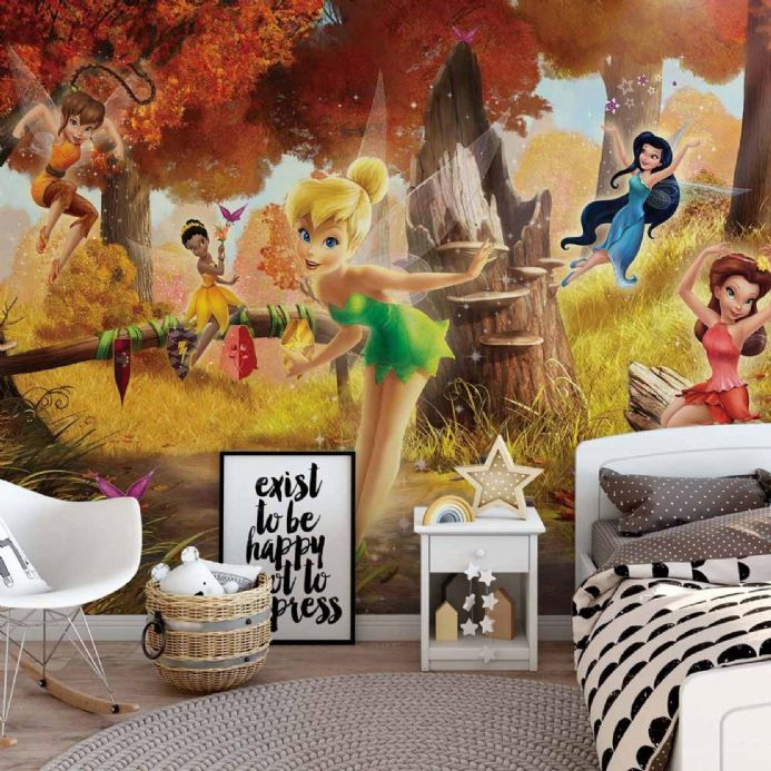 Disney Fairies wall murals for wall | Homewallmurals.co.uk